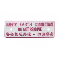 Safety Notice and Label
