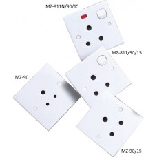 Marble Switch & Socket (Three Round Pin Socket)