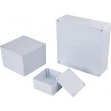 Trust Plastic Junction Box with Flat Cover